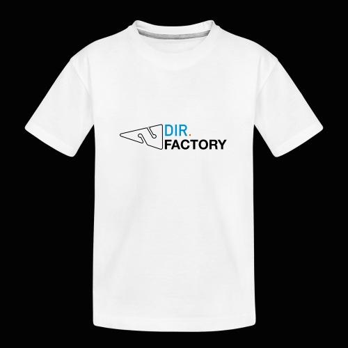 Logo mit Arrow DESIGN - Teenager Premium Bio T-Shirt
