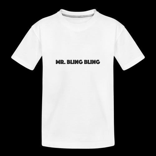 bling bling - Teenager Premium Bio T-Shirt