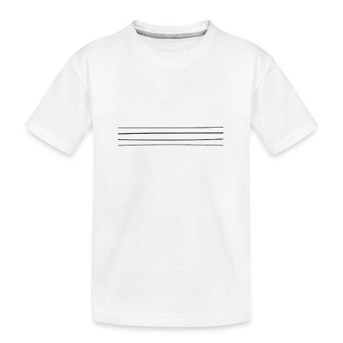 Re-entrant Womens White Tshirt - Teenager Premium Organic T-Shirt