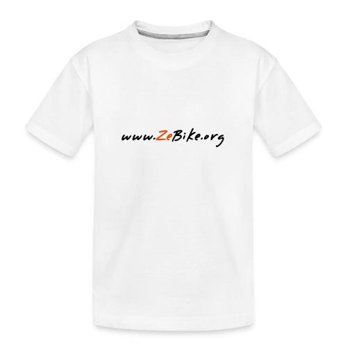 wwwzebikeorg s - T-shirt bio Premium Ado