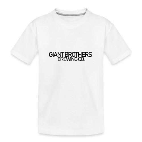 Giant Brothers Brewing co SVART - Ekologisk premium-T-shirt tonåring