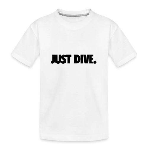 just, dive, nur - Ekologiczna koszulka młodzieżowa Premium