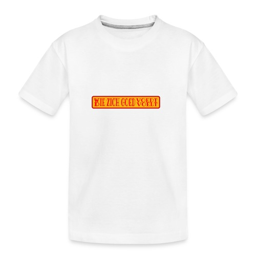 wie en die png - Teenager Premium Organic T-Shirt