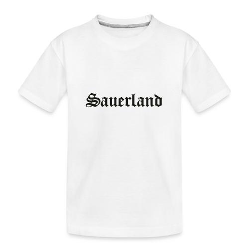 Sauerland - Teenager Premium Bio T-Shirt