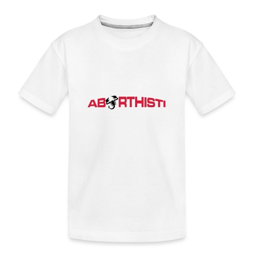 abarthisti no url - Premium økologisk T-skjorte for tenåringer