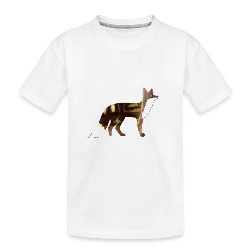 Forest Fox - Teenager Premium Organic T-Shirt