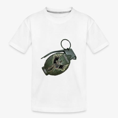 OutKasts Grenade Side - Teenager Premium Organic T-Shirt