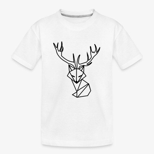 white foxy - Ekologiczna koszulka młodzieżowa Premium
