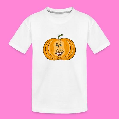Rick pumpkin - Teenager premium biologisch T-shirt