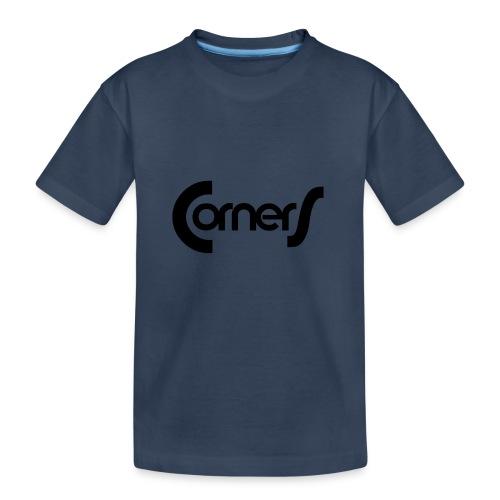 cornerlogos - Teenager premium T-shirt økologisk