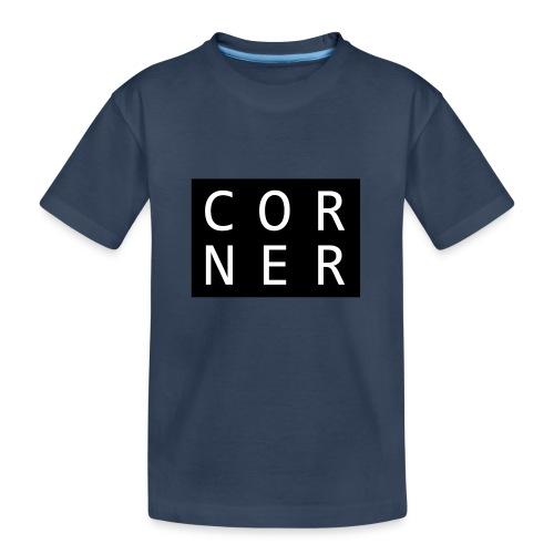 cornerbox - Teenager premium T-shirt økologisk