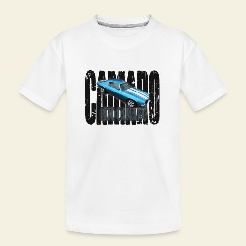 70 Camaro - Teenager premium T-shirt økologisk