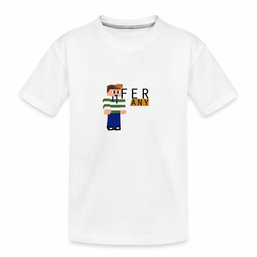 MinecraftFeranyLogo - Teenager premium biologisch T-shirt