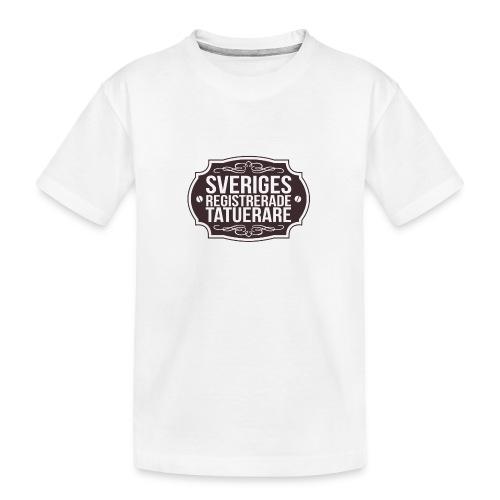 SverigesTatuerare - Ekologisk premium-T-shirt tonåring