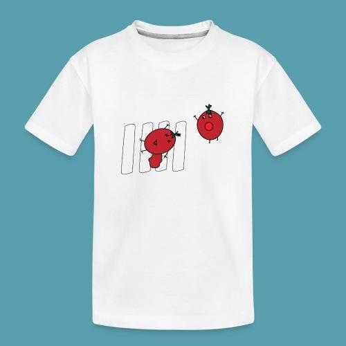 tomaatit - Teinien premium luomu-t-paita