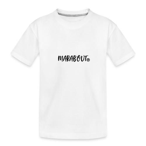 MARABOUT® - Wij helpen, Gambia ontwikkelt - Teenager premium biologisch T-shirt