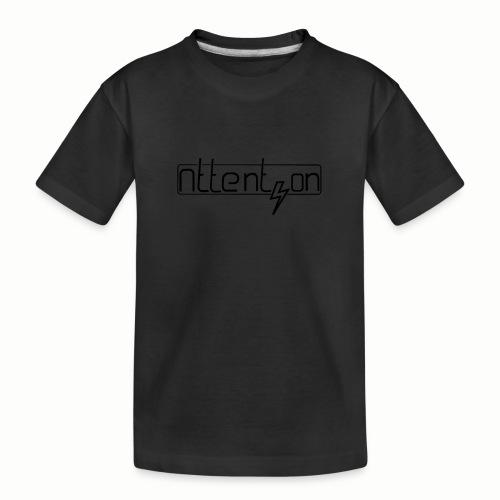 attention - Teenager premium biologisch T-shirt