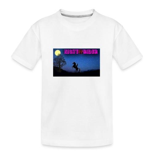 nightrider merch - Teenager premium T-shirt økologisk