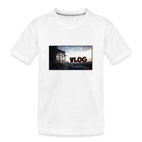 Vlog - Teenager Premium Organic T-Shirt