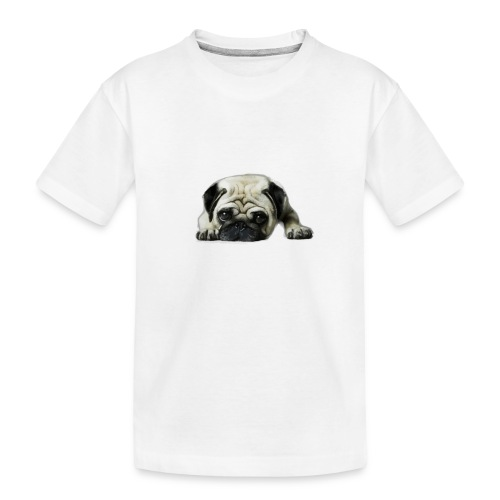 Cute pugs - Camiseta orgánica premium adolescente