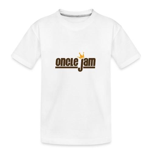 Oncle Jam horizontal brun - T-shirt bio Premium Ado