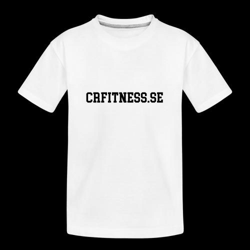 CRfitness Web - Ekologisk premium-T-shirt tonåring