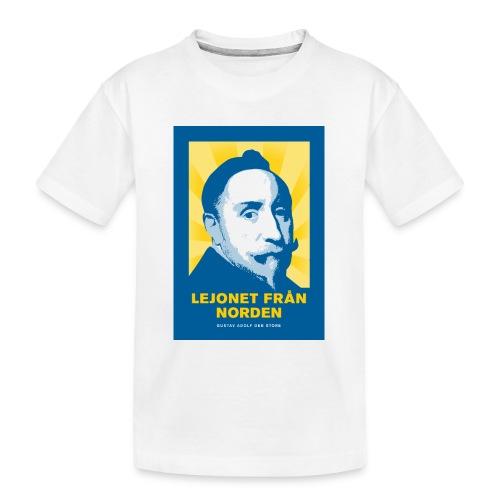Lejonet från Norden - Ekologisk premium-T-shirt tonåring