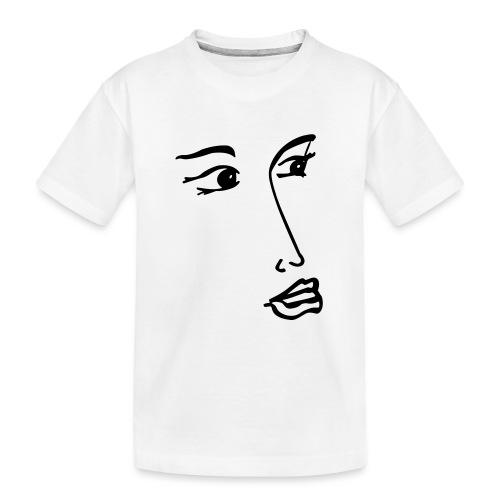 verträumt - Teenager Premium Bio T-Shirt