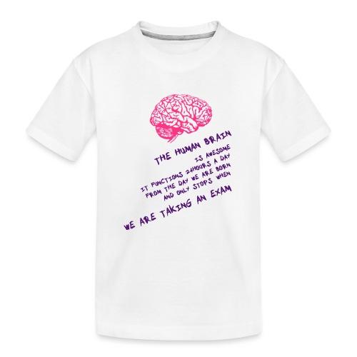 Human Brain - Maglietta ecologica premium per ragazzi