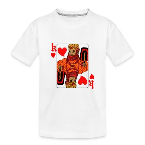 King of hearts - Teenager Premium Organic T-Shirt