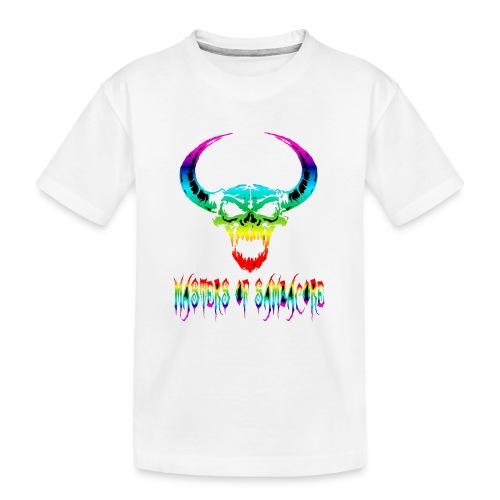 mos2 png - Teenager premium biologisch T-shirt