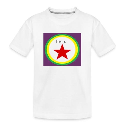 I'm a STAR! - Teenager Premium Organic T-Shirt