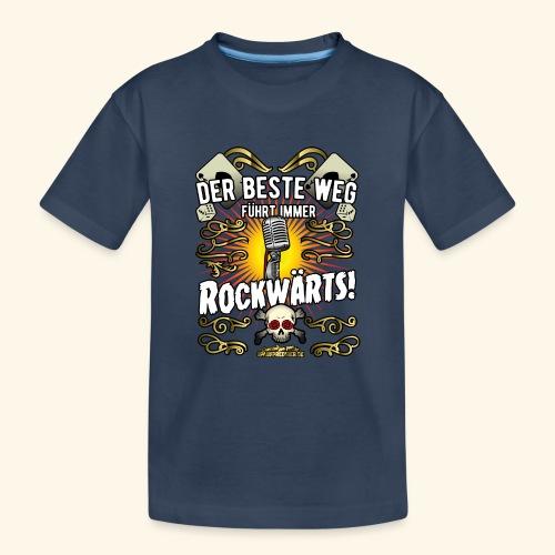 Rock Music Shirt ROCKWÄRTS - Teenager Premium Bio T-Shirt