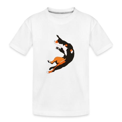 Entlebucher Hopp - Ekologisk premium-T-shirt tonåring