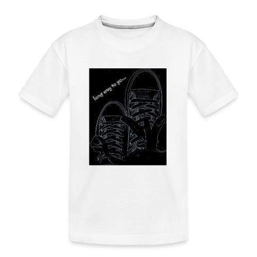 Long way to go - Teenager Premium Organic T-Shirt