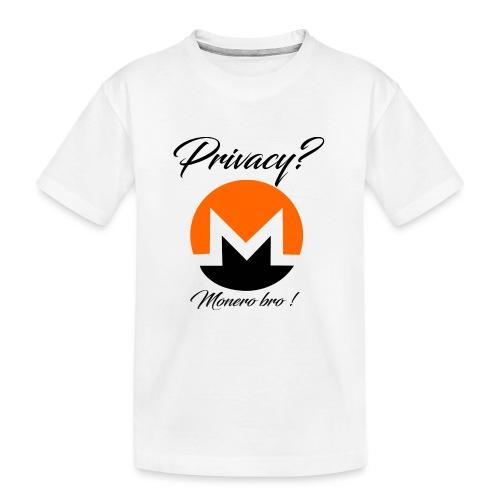 Moneroooo - T-shirt bio Premium Ado