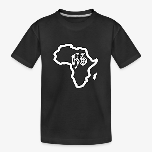 afrika pictogram - Teenager premium biologisch T-shirt