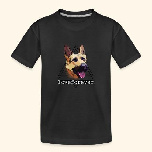 SHEPHERD LOVE FOREVER - Camiseta orgánica premium adolescente