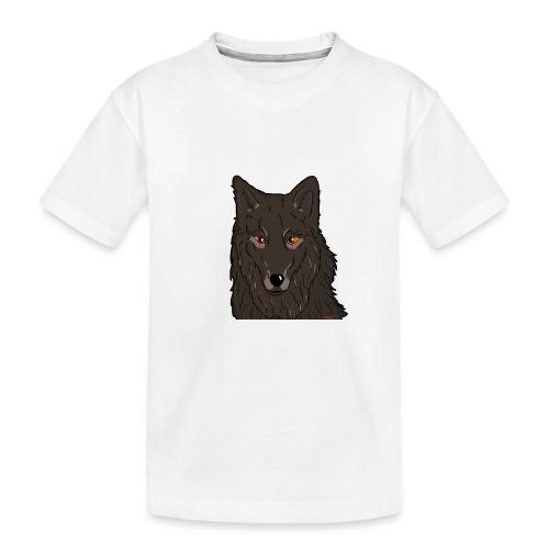 HikingMantis Wolf png - Teenager premium T-shirt økologisk