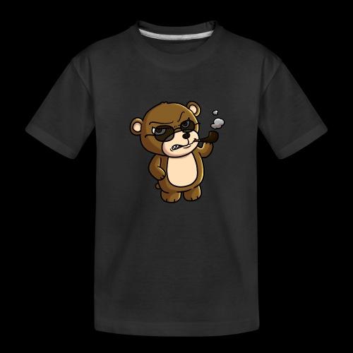 AngryTeddy - Teenager Premium Organic T-Shirt
