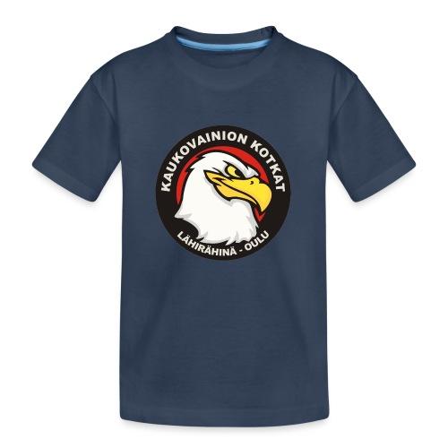 Kaukovainion Kotkat - Teinien premium luomu-t-paita