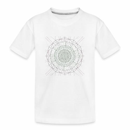 Mandala - Teinien premium luomu-t-paita