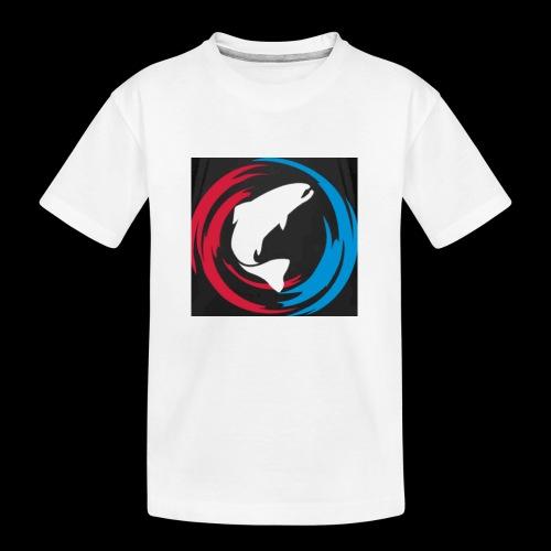 Logo Fisk - Ekologisk premium-T-shirt tonåring