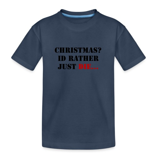 Christmas joy - Teenager Premium Organic T-Shirt