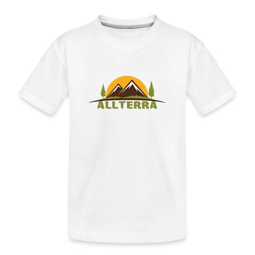 camiseta básica Alterra - Camiseta orgánica premium adolescente