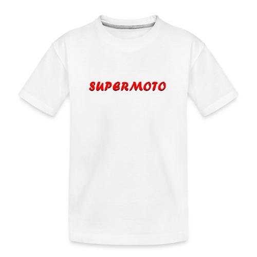 SupermotoLuvan - Ekologisk premium-T-shirt tonåring