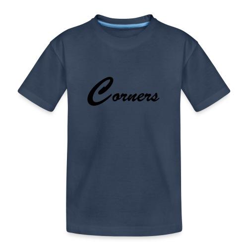 Corners Logo - Teenager premium T-shirt økologisk