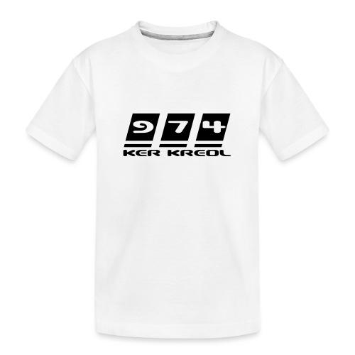 Ecriture 974 Ker Kreol - T-shirt bio Premium Ado