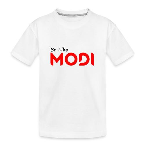 Be Like MoDi - Ekologiczna koszulka młodzieżowa Premium