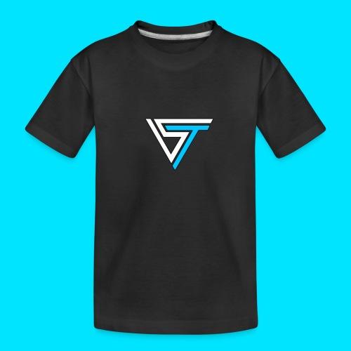 somsteveel kleding en accessoires - Teenager premium biologisch T-shirt